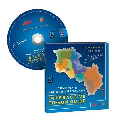 ARMENIA & KARABAKH INTERACTIVE CD-ROM GUIDE II-nd Edition